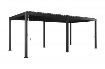 Hliniková pergola PERARA 600x300 antracit