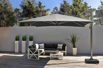 Záhradný slnečník ICON 3,5m x 3,5m Premium