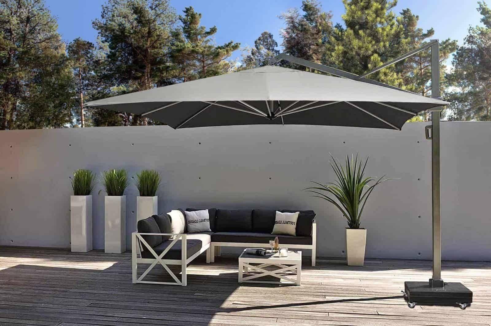 Záhradný slnečník ICON 3,5m x 3,5m