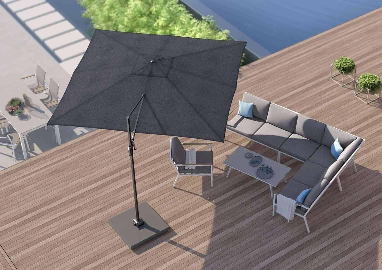 Záhradný slnečník Challenger T¹ 3m x 3m Premium