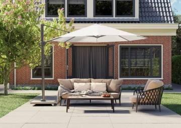 Záhradný slnečník Challenger T¹ 3,5 Premium