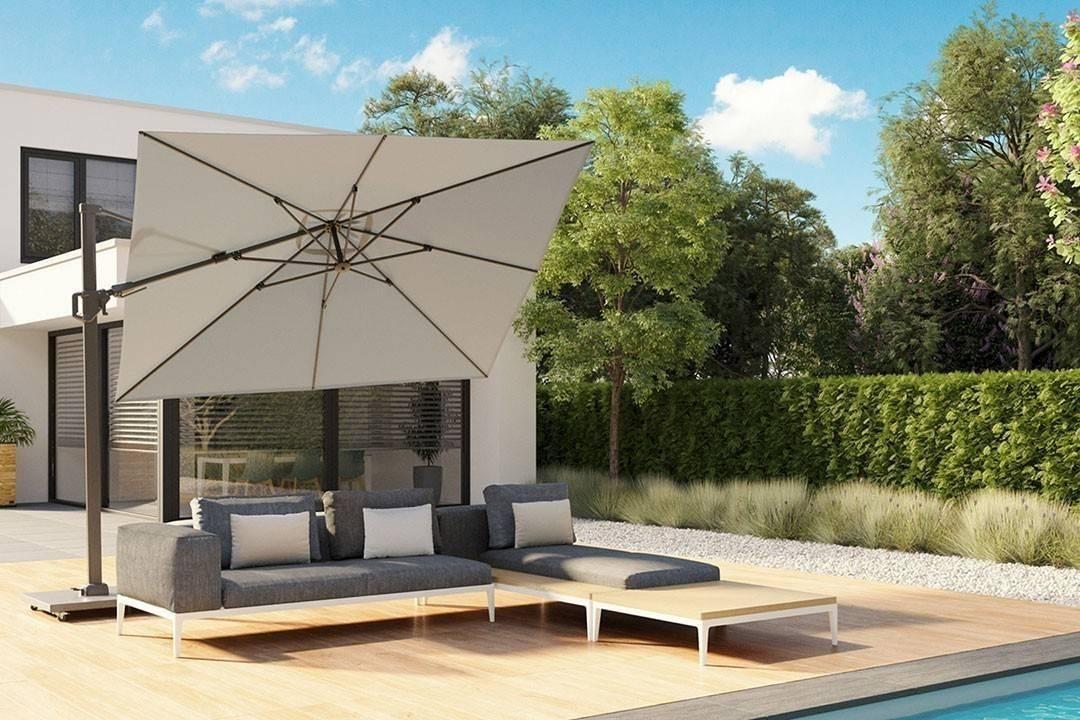 Záhradný slnečník Challenger T² Premium 3,5m x 2,6m