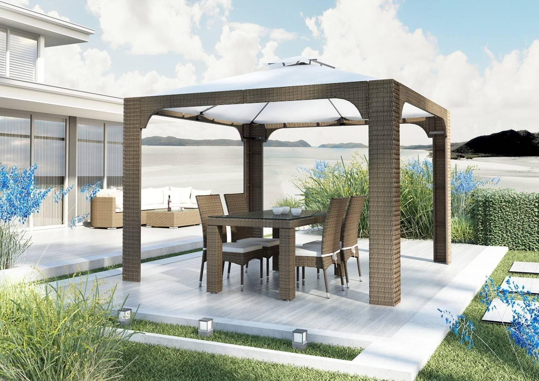 Záhradná ratanová stolička STRATO Royal piesok