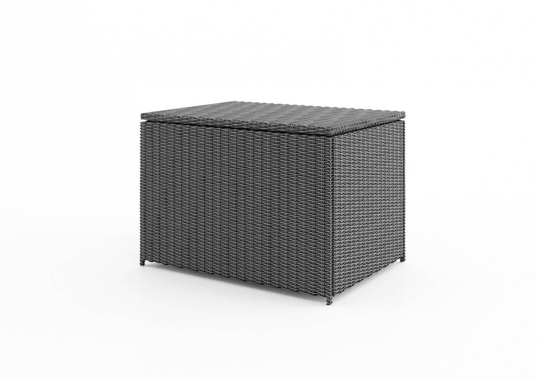 Záhradný ratanový box SCATOLA 100 Royal sivá