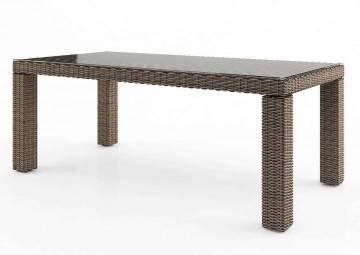 Záhradný ratanový stôl RAPALLO 220 Royal piesok