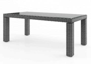 Záhradný ratanový stôl RAPALLO 220 Royal sivá