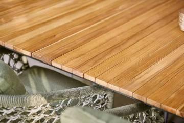 Záhradný rozťahovací stôl RIALTO 265 cm antracit