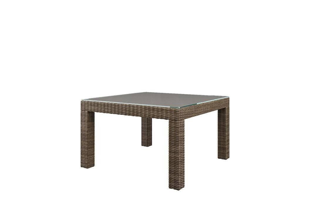 Záhradný ratanový stôl MILANO Royal piesok