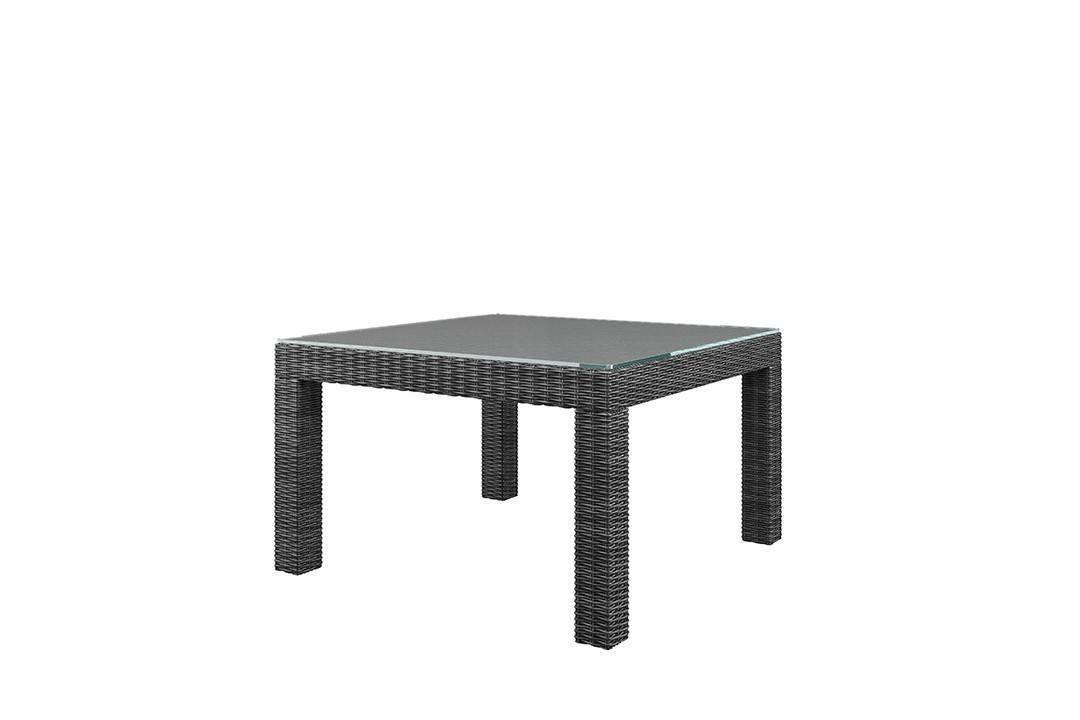 Záhradný ratanový stôl MILANO Royal sivá