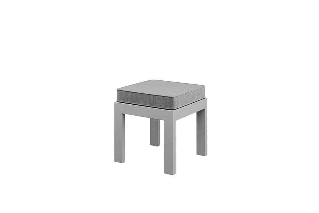 Záhradná hliníková sedacia súprava GRADO II. sivá