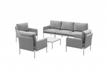 Záhradný nábytok ARONA sivá