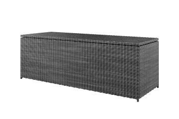 Záhradný ratanový box SCATOLA 200 Royal sivá