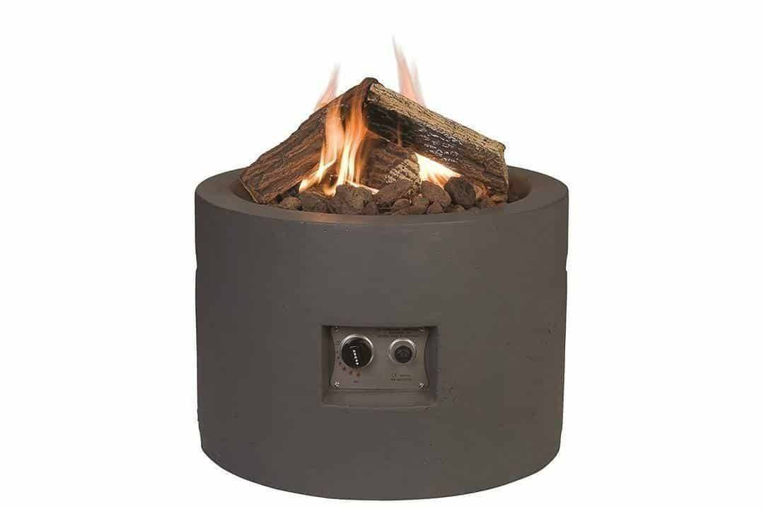 Plynové ohnisko okrúhle antracit