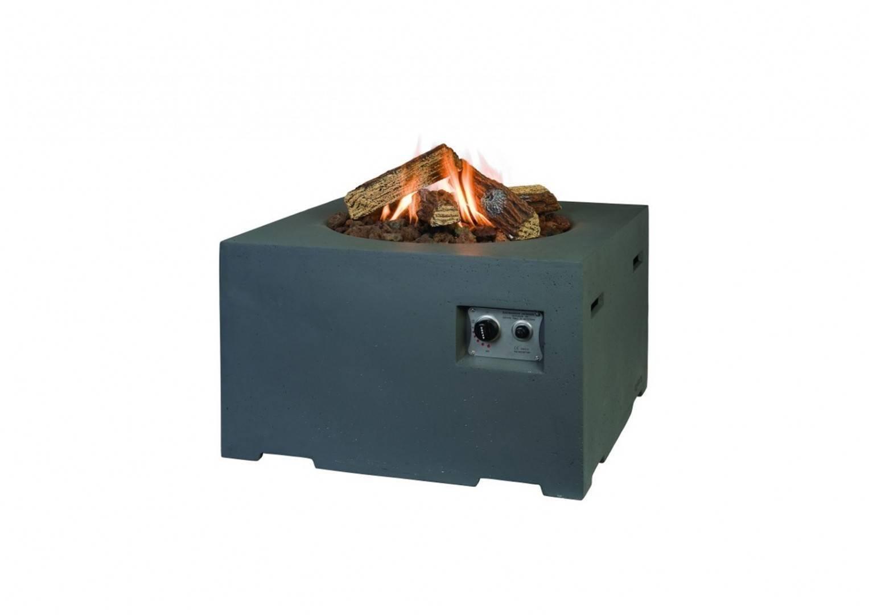 Plynové štvorcové ohnisko 76 antracit