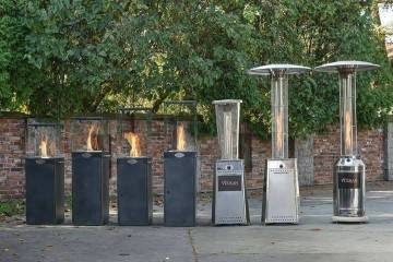 Plynový ohrievač HELENA
