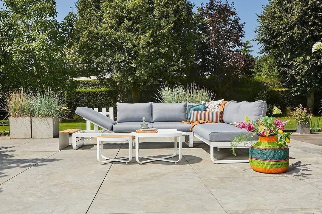 Záhradná súprava PARMA II biela