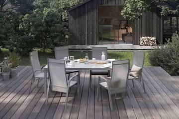 Záhradný nábytok OVIEDO sivá