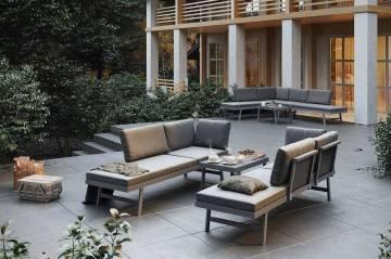 Záhradný nábytok MASCA sivá outlet